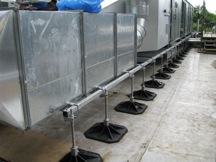 Gallery Hvac Roof Supports